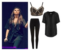 """""""Jesy Nelson exact #4"""" by ilikewarmhugsolaf ❤ liked on Polyvore featuring River Island, ASOS, The Ragged Priest, women's clothing, women, female, woman, misses and juniors"""