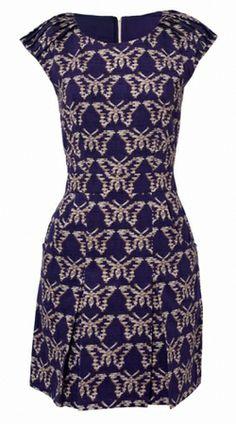 Purple Flight by MIA JAFARI @girlmeetsdress  Pin to Win your dream dress from girlmeetsdress.com! #wingirlmeetsdress