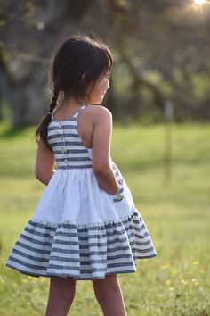 Carmelo — Little Lizard King Kids Summer Dresses, African Dresses For Kids, Toddler Girl Dresses, Little Girl Dress Patterns, Little Girl Dresses, Girls Dresses, Little Girl Clothing, Kids Frocks, Frocks For Girls