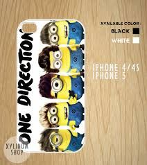 One direction minion phone case!! Too cute!!