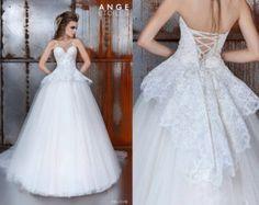 Vestido de novia LETICIA vestido de boda por RaraAvisAngeEtoiles