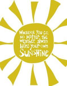 sunshine(: