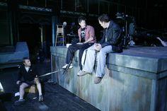 Behind The Scenes so cute McShep!