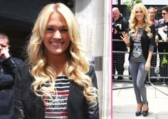 Carrie Underwood arriving at BBC Radio 2
