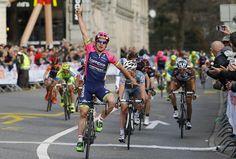 #GPLugano | El italiano del Lampre-Mérida, Niccolo Bonifazio, consiguió su primera victoria del año en Suiza.