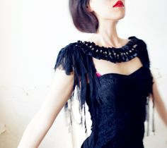 Hey, I found this really awesome Etsy listing at https://www.etsy.com/listing/169683931/necklace-and-shoulder-epaulettes