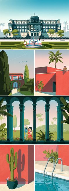 Fago Studio, Pavillon Gazon - illustrations