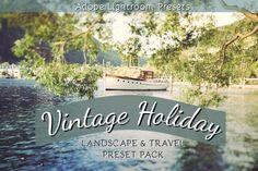 Vintage Holiday Landscape & Travel Lightroom Preset Pack by LoveLightroomPresets on Etsy