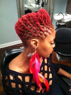 I miss my locs being this color Dreadlock Styles, Dreads Styles, Dreadlock Hairstyles, Braided Hairstyles, Cool Hairstyles, Natural Hairstyles, Hairdos, Hairstyle Ideas, Black Hairstyle