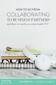 As a two woman team, we get a lot of questions about how we make a partnership work. We always get asked how we met, how we work as a team inside TCC, and what gave us the idea to make the leap from collaborators to business partners. We know it's not necessarily super common, but it seems like everyone is always interested in seeing how this works. So we figured we would just share some of the actual tools and mindsets that we went through when we barely knew each other at first and…