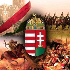 Hungary History, Hungary Travel, Family Roots, Freedom Fighters, Budapest Hungary, My Heritage, Coat Of Arms, Holy Spirit, Holiday Decor