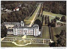 Frankreich - 91 - CHAMARANDE : Vue aérienne - Le Chateau - CPSM dentelée GF - Essonne