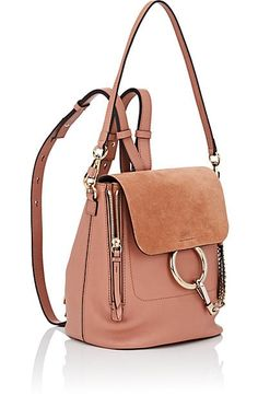 82e17a363058 Chloé Faye Small Leather Backpack - Backpacks - 505422159 Chloe Faye Small,  Designer Backpacks,