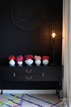 See all of Anastasia's beautifully moody German home on blog.abigailahern.com