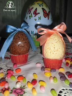 Uova di Pasqua al riso soffiato