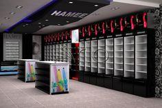 طراحی و تجهیز فروشگاه زنجیره ای حامی- ولنجک - ارائه دکوراسیون فروشگاهی