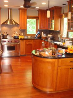 Our friends from M.D. Custom Homes have created this amazing kitchen ...