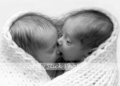 Twin love! This photograph of these sweet boys makes my heart melt :)