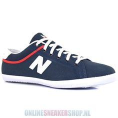 New Balance Sneakers V35D Canvas Suede Navy Red Blue -     http://www.onlinesneakershop.nl/heren-balance-balance-sneakers-v35d-canvas-suede-navy-blue-p-2411.html