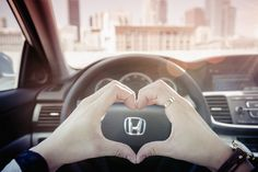 Always handle your Accord with love and care.