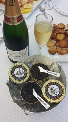 Acadian Caviar & Champagne!