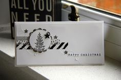 Stampin' Up! Christmas card lovely as a tree alphabet rotary stamp demonstrator blog Zoe Tant Stampingscene