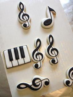 Cookies musicais
