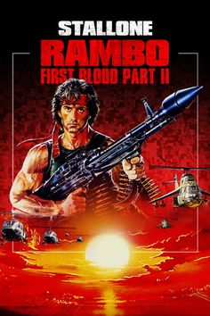 Sylvester Stallone, in this explosive Oscar-nominated sequel to FIRST BLOOD, is back as John Rambo, the perfect fighting machine. Rambo's survival skills are tested First Blood, Sylvester Stallone, Buy Movies, Movies To Watch, Rambo 2, Action Icon, Latest Movie Trailers, Latest Movies, Lion Pictures