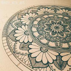 WEBSTA @ mayu_with_arts - Bloom bloom🌸🌸🌸benefits of shedding tears....#mandala #mandalas #mandaladesign #mandalaart #zendoodle #zenart #coloring #zentangle #illustration #design #doodle #doodling #drawing #artwork #flowerart #mandaladrawing #adultcoloring #paint #beautiful_mandalas #henna #doodleart #art #マンダラ #曼荼羅 #ゼンタングル #アート #мандала #ماندالا  #mandalazen #details