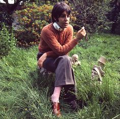 Paul Mccartney fashion: Paul McCartney fashion feature in the Observer magazine, 1969