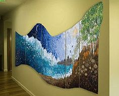 Commissions - Rhythms of the Sea - Lorraine Roy: Textile Art