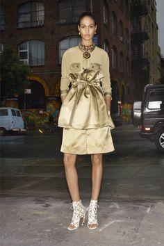 Joan Smalls in Givenchy Resort 2014