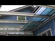 Retractable Glass Roof Installation
