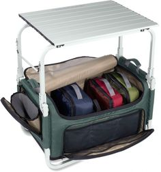 REI Camp Pack-N-Prep Tote/Table. Hopefully a car camping win!