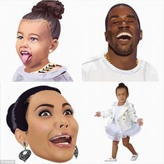 9b8c8c9013a A treat for her fans  Kim Kardashian released some new Kimojis on  Wednesday
