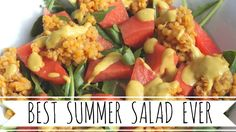 Watermelon Lentil Arugula Salad! #nutrition #snack #healthycomfortfood #veganlife #recipe #salad #veganrecipe #veganrecipes #yummy #vegan #vegans #vegansofig #vegansofinstagram #crueltyfree #eatclean #wholefoodsplantbased #plantstrong #vegano #vegetalien #veganer #vegansnack #veganmeal #vegetarian #whatveganseat #whatveganscook #homemadefood #summersalad #homemadesnack #lecker #vegancooking #fettfrei #plantbaseddiet #cooking #vegansnacks #nooil #dairyfree #healthy #legumes #hclf #hclfvegan…