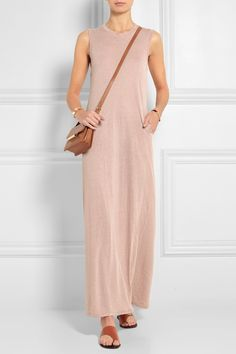 RAQUEL ALLEGRA Cotton-blend jersey maxi dress  €270.99 http://www.net-a-porter.com/products/572062