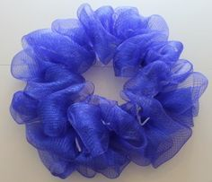 Deco mesh wreath how to