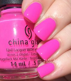 Glow With the Flow The PolishAholic: China Glaze Summer 2015 Electric Nights Collection Swatches & Review