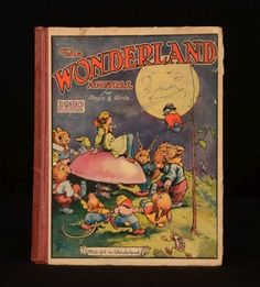 1920 'The Wonderland Annual for Boys and Girls' | eBay