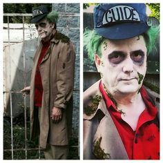 Beetlejuice cosplay from the Cemetery scenes. By EmilyB.   Need to change a few things for next time, but given limited time and what I had in my kit, I'm happy with it.