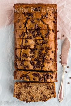 This peanut butter banana bread has a maple glaze that just takes the flavor over the top!