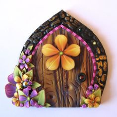 Hey, I found this really awesome Etsy listing at https://www.etsy.com/listing/202909270/flower-fairy-door-pixie-portal-fairy