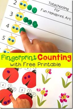 FREE Fingerprint Counting Activities