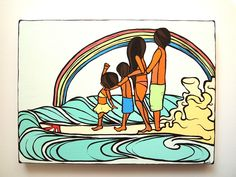 Family Surf- By Yumi