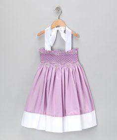 Take a look at this Purple Bayberry Dress - Infant, Toddler & Girls by Marjorie's Daughter on #zulily today!