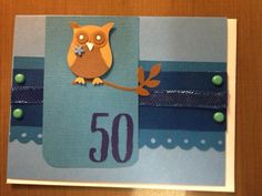 Stampin' Up Owl Punch card
