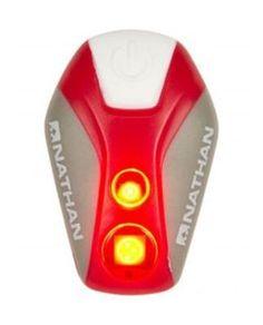 De Pulsar Strobe van Nathan is een klein en licht LED lampje dat ervoor zorgt dat hardlopers, kinderen, fietsters, wandelaars en huisdieren beter worden gezien in het donker. Kan overal vastgeklipt worden.