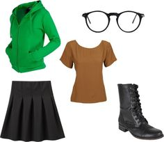 """Daria Costume Ideas"" by hetty-nicole on Polyvore"