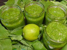 Bärlauch-Pesto selbstgemacht - Rezept für ein Bärlauchpesto